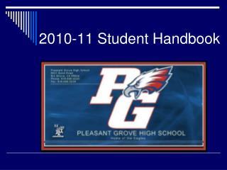 2010-11 Student Handbook