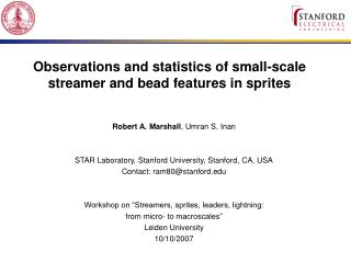 Observations and statistics of small-scale streamer and bead features in sprites