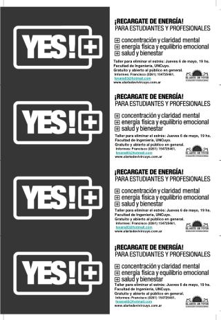 Flyers_Yes 6 de mayo BN