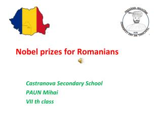 Nobel  prizes for Romanians