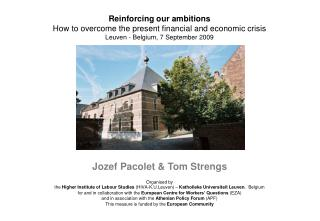 Jozef Pacolet & Tom Strengs