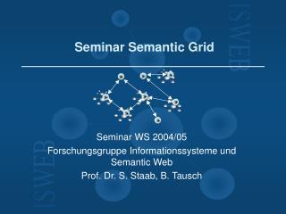 Seminar Semantic Grid