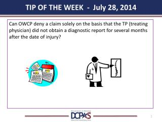 TIP OF THE WEEK - July 28, 2014