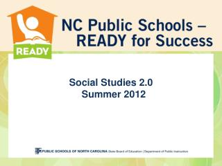 Social Studies 2.0 Summer 2012