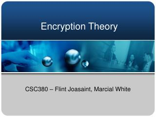 Encryption Theory