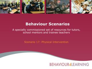 Behaviour Scenarios