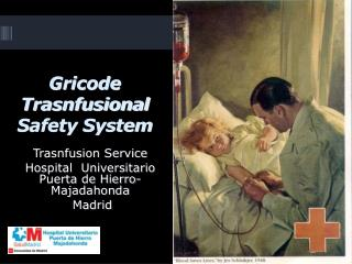 Gricode Trasnfusional Safety System