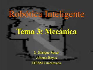 Robótica Inteligente