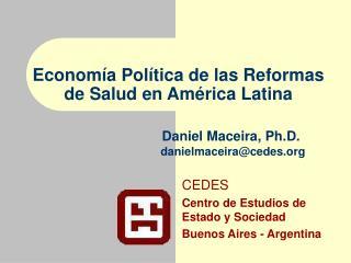 CEDES Centro de Estudios de Estado y Sociedad Buenos Aires - Argentina