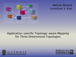 Application-specific Topology-aware Mapping for Three Dimensional Topologies