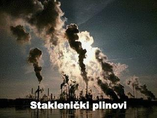 Staklenički plinovi