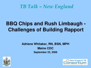 BBQ Chips and Rush Limbaugh - Challenges of Building Rapport