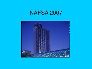 NAFSA 2007