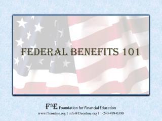 Federal Benefits 101