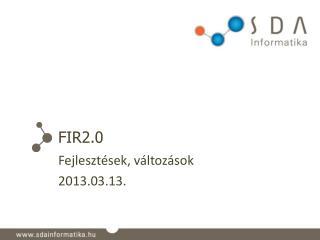 FIR2.0