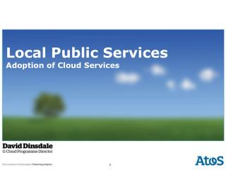 Local Public Services Adoption of Cloud Services
