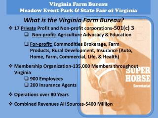 Virginia Farm Bureau Meadow Event Park & State Fair of Virginia