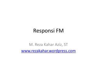 Responsi FM