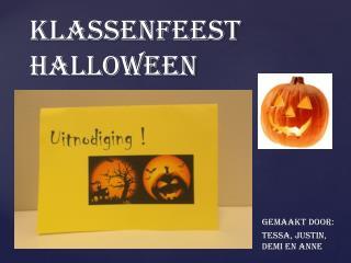 Klassenfeest Halloween