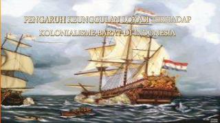 Pengaruh keunggulan lokasi terhadap kolonialisme barat di indonesia