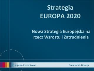 Strategia E UROPA 2020