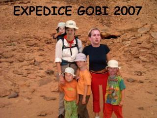 EXPEDICE GOBI 2007