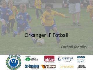 Orkanger IF Fotball