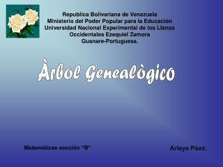 Àrbol Genealògico