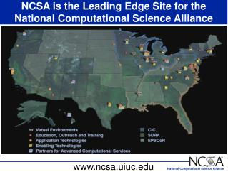 NCSA is the Leading Edge Site for the National Computational Science Alliance