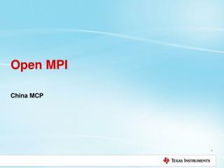 Open MPI