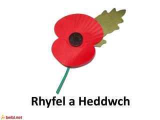 Rhyfel a Heddwch