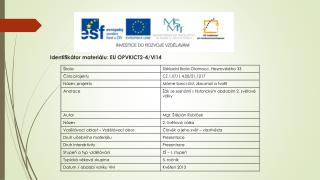 Identifikátor materiálu: EU OPVKICT2-4/Vl14