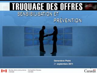 Geneviève Poiré 21 septembre 2011