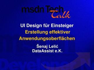UI Design für Einsteiger Erstellung effektiver Anwendungsoberflächen