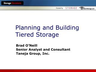 Planning and Building Tiered Storage
