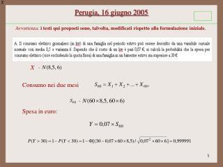 Perugia, 16 giugno 2005