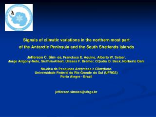 Limit (coupled) Sea ice extend (winter) Antarctic atmospheric front
