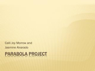 Parabola Project