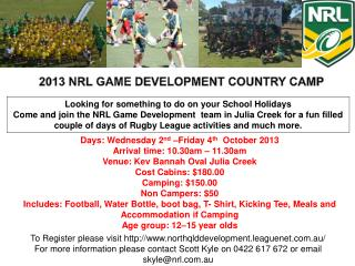 Looking for something to do on your School Holidays