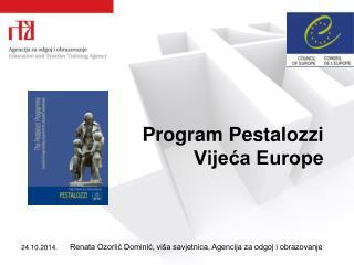 Program Pestalozzi Vijeća Europe
