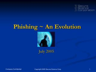 Phishing ~ An Evolution