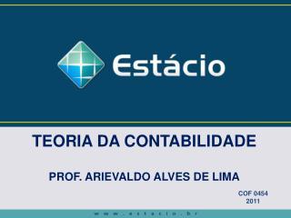 FUNDAMENTOS DA CONTABILIDADE dvides@ig.br