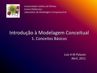 Introdução à Modelagem Conceitual 1. Conceitos Básicos
