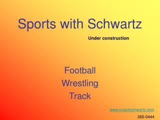 Sports with Schwartz