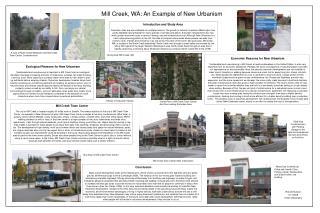 Mill Creek, WA: An Example of New Urbanism