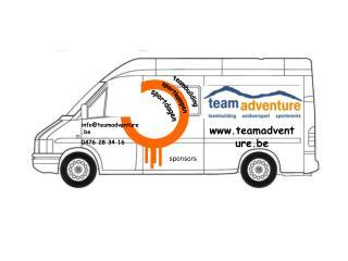 info@teamadventure.be 0476 28 34 16