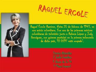 RAQUEL ERCOLE
