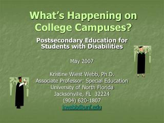 What's Happening on College Campuses?