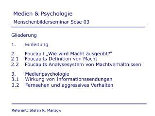 Medien & Psychologie