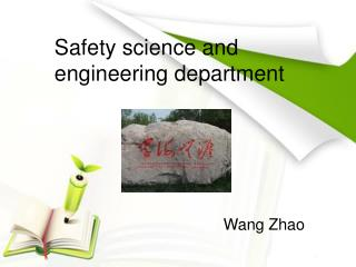 Safety science and engineering department